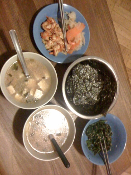 Chuseok Meal