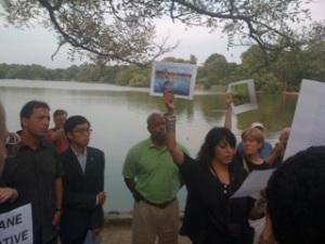 Vigil in Prospect Park